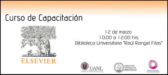 UANL | Capacitación en bases de datos: Elsevier